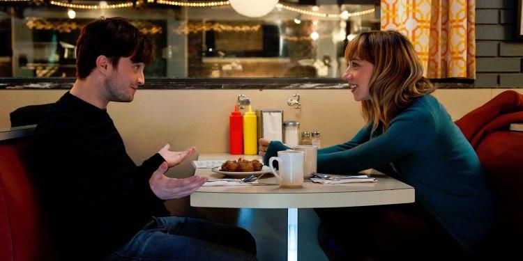 Daniel Radcliffe og Zoe Kazan i What If