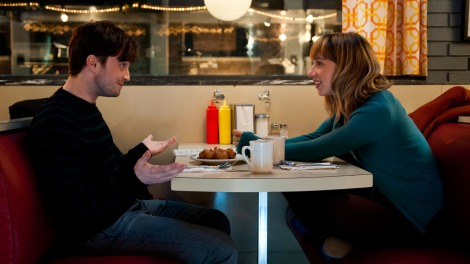 Daniel Radcliffe and Zoe Kazan would like you to watch their movie.