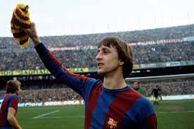 Cruyff enjoyed some great success with Barcelona