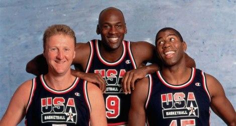 Bird, Jordan and Magic pushed NBA basketball into the international spotlight