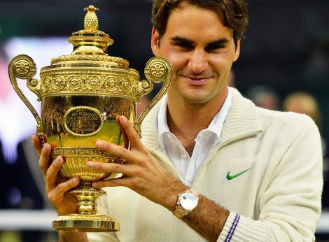 One part of the Roger Federer Effect? Trophies.