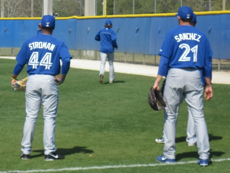 Stroman and Sanchez: hope for the future?