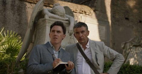 Rob Brydon and Steve Coogan in Italy.