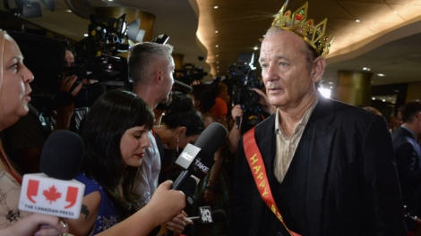 Regal Bill Murray.