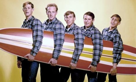 Beach Boys With A Surfboard