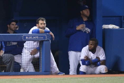 The Blue Jays were not a happy bunch in August
