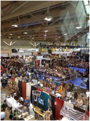 The Fan Expo floor.