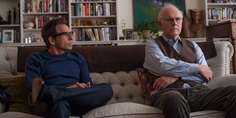Ben Stiller gazes at Charles Grodin. Living the dream.
