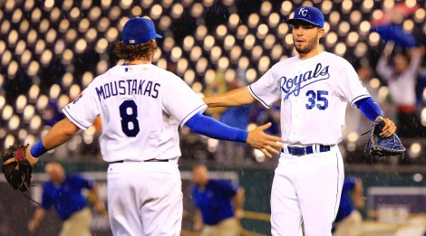The Kansas City Royals were fired up.