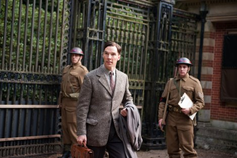 """Hello, yes, I'm Benedict Cumberbatch, er, I mean, Alan Turing."""