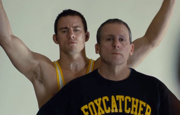 Channing Tatum as Mark Schultz. Steve Carell as John du Pont. Fun times.