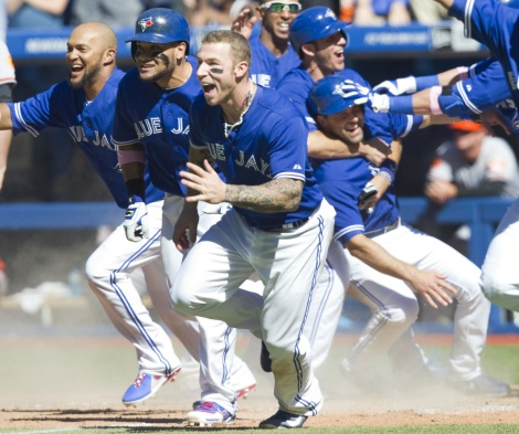 Brett Lawrie leads the charge.