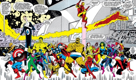 There's a LOT to take in here. Re: Marvel's Secret Wars.