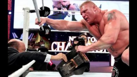 Will Brock Lesnar hang onto the title this time?