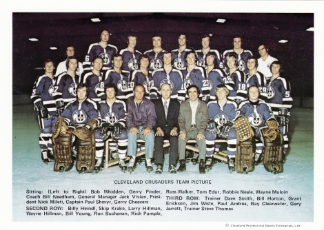 The 1973-74 Cleveland Crusaders, a stirring example of the WHA.