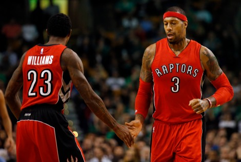 But the Raptors do have (the Legend of) James Johnson.