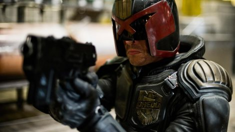 Dredd, back from the dead.