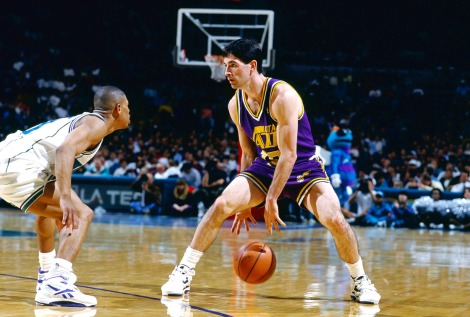 The unlikeliest of NBA legends: John Stockton.