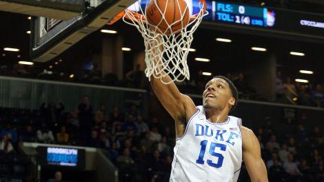 Jahlil Okafor can dunk the basketball.