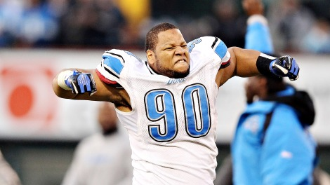 Ndamukong Suh feels very passionate about this.