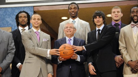 DeMar didn't even get to be in the picture on draft day!