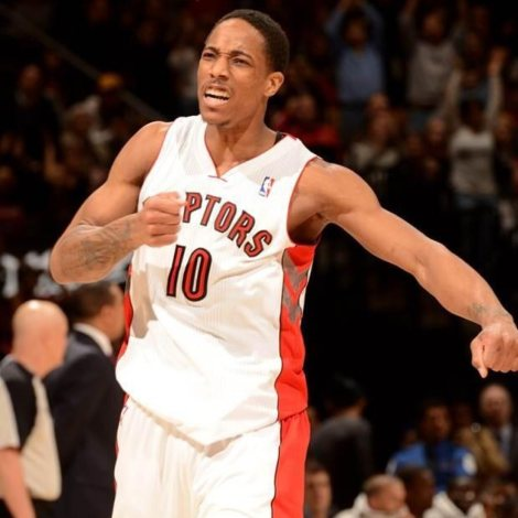 DeRozan found his groove late in the season, reassuming his role as Toronto's alpha dog