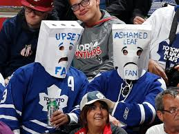 Toronto fans in action.