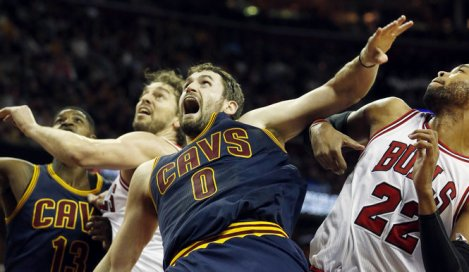 Is Kevin Love the man to help Cleveland to a title?