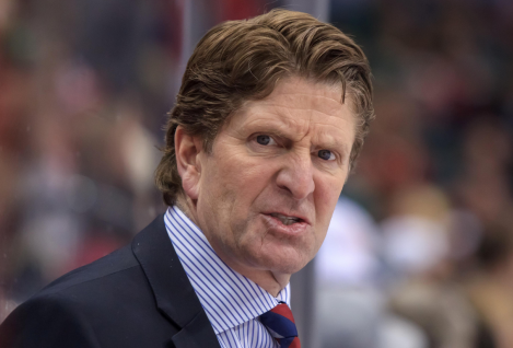 Mike Babcock: face of a leader.