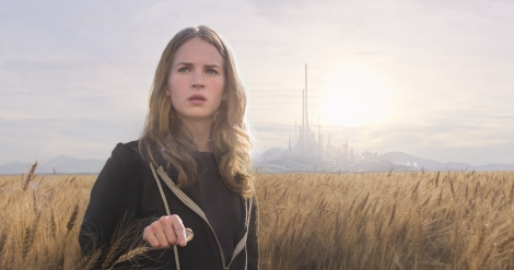 Britt Robertson is excited (?) for Tomorrowland.