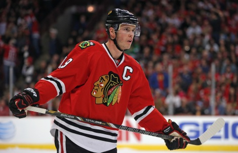 The rock on which Chicago built its church: Jonathan Toews.