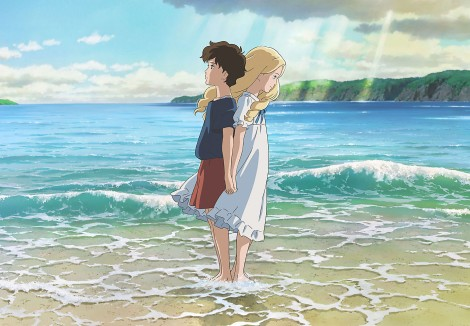 "Annie and Marnie in ""When Marnie Was There""."