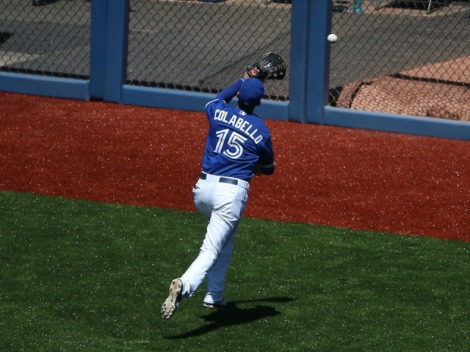 A familiar sight early this season for Jays fans.