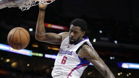 DeAndre Jordan doing what he does best.