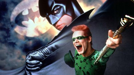 Batman Forever, in all its wild contrasting glory.