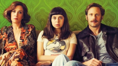 The film stars Bel Powley, but also that moustache.