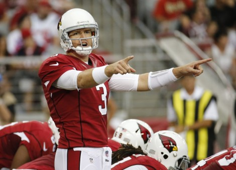 Carson Palmer wants YOU to pay attention.
