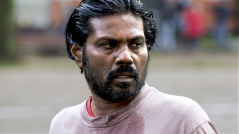 The expressive face of Dheepan.