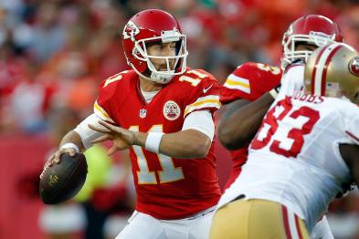 Alex Smith and the Chiefs will be better, soon