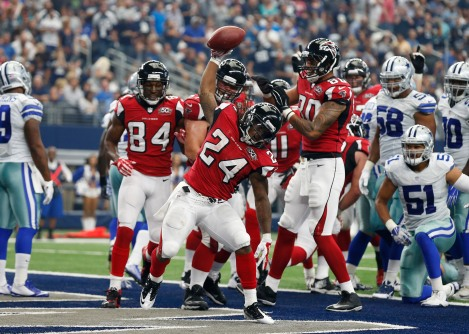 Devonta Freeman and the Falcons are the NFC's best.