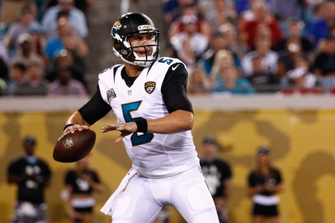 England's favourite quarterback, Blake Bortles, led his team back against Buffalo