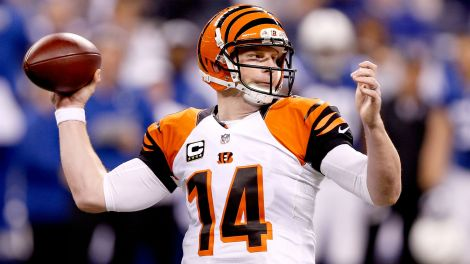 Andy Dalton leads the league in passing yards...seriously.