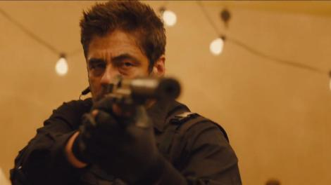 Just to remind: Sicario means hitman.