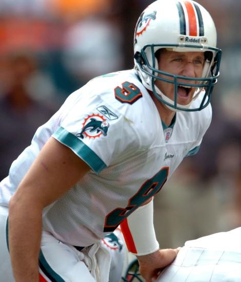 Jay Fiedler, Miami's best quarterback since Marino retired.