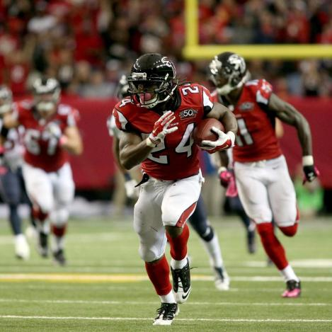 Devonta Freeman has been untouchable for the 5-1 Falcons