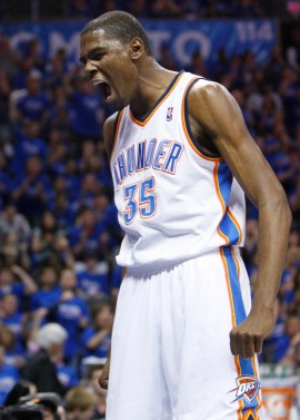 KD is back, and he will eat your entire lunch with no ketchup.