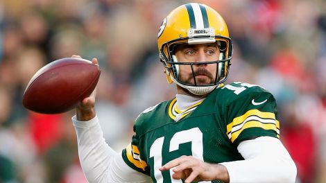 Aaron Rodgers and the Packers control the air