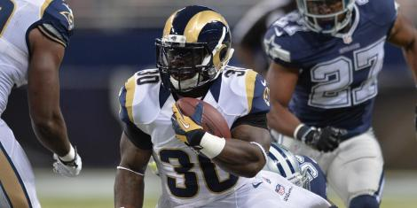 NFL Rookie of the Year candidate Todd Gurley adds an explosive dimension to the Rams' offense
