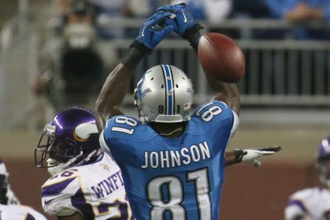 Whoops! Calvin Johnson did not play his best this past weekend.