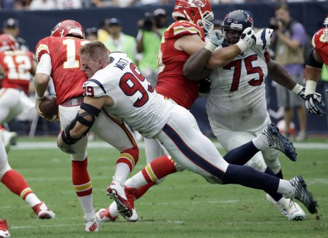 Some quarterbacks never had to worry about JJ Watt